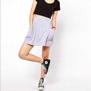 Anerican Apparel Jersey Pocket Skirt